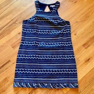 Trina Turk blue denim dress size 14